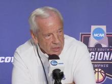 Roy Williams, UNC players address media ahead of Elite Eight game vs. Kentucky