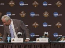 Roy Williams, UNC players speak following Final Four win over Oregon