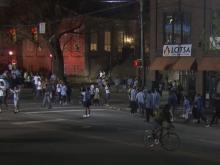 Franklin Street celebrates UNC's title