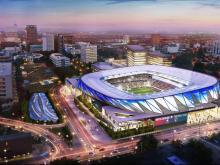 NC FC stadium design / Gensler