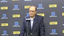 Duke players, coach react after NCCU win