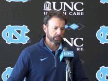 UNC head coach Larry Fedora meets the media following blowout loss to Georgia Tech