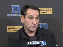 Coach K previews Duke basketball season at media day