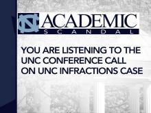 UNC leaders: NCAA decision correct and fair