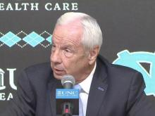 Roy Williams speaks at UNC media day