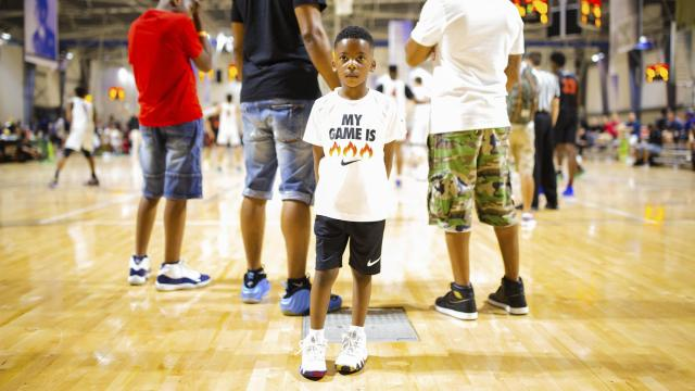 Sneaker companies and summer leagues: A pairing too