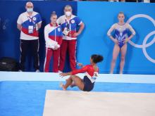 Biles Said She Was Not in a Good Place Mentally to Compete