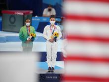 Lee Wins the All-Around Gold Medal