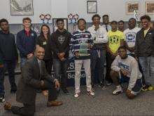 Coastal Federal Scholar-Athlete of the Month: Desmond Jackson
