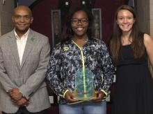 Coastal Federal Scholar-Athlete of the Month: Veronica Fraley