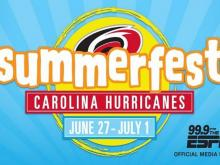 Carolina Hurricanes Summerfest Celebration