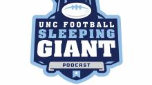 UNC football: Sleeping giant podcast logo