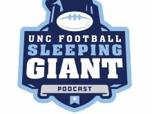 UNC football: Sleeping giant podcast logo