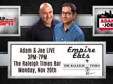 Adam & Joe Live at The Raleigh Times Bar