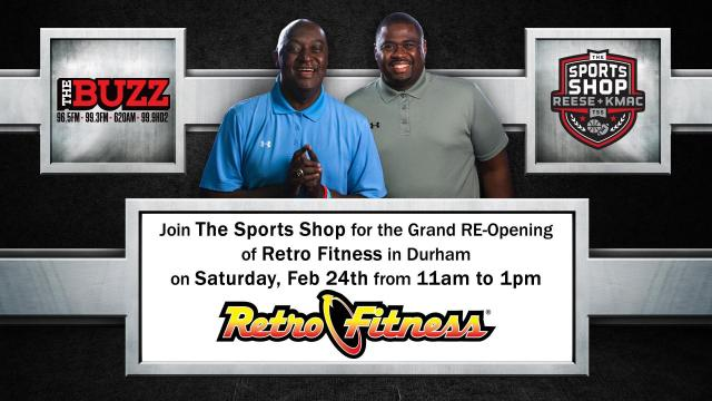 Grand RE-Opening of Retro Fitness
