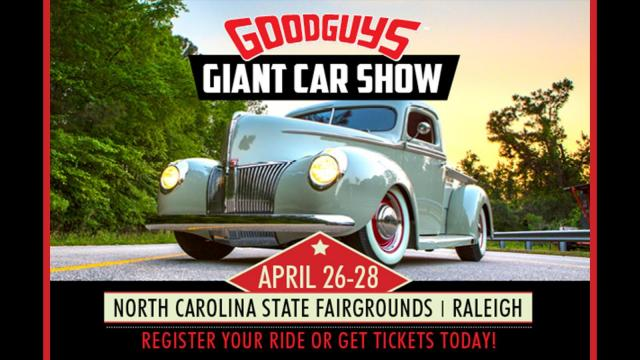 Raleigh Car Show >> Goodguys 5th North Carolina Nationals Wralsportsfan Com