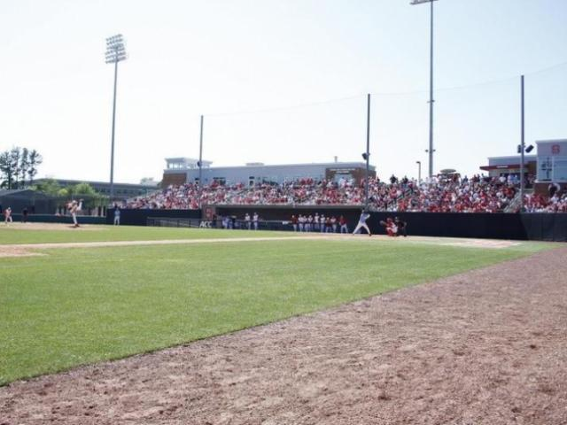 Doak Field during the UNC vs. NC State baseball game on April 17th, 2011 at Doak Field in Raleigh, North Carolina.<br/>Photographer: Jerome Carpenter