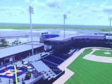 Fayetteville baseball stadium rendering