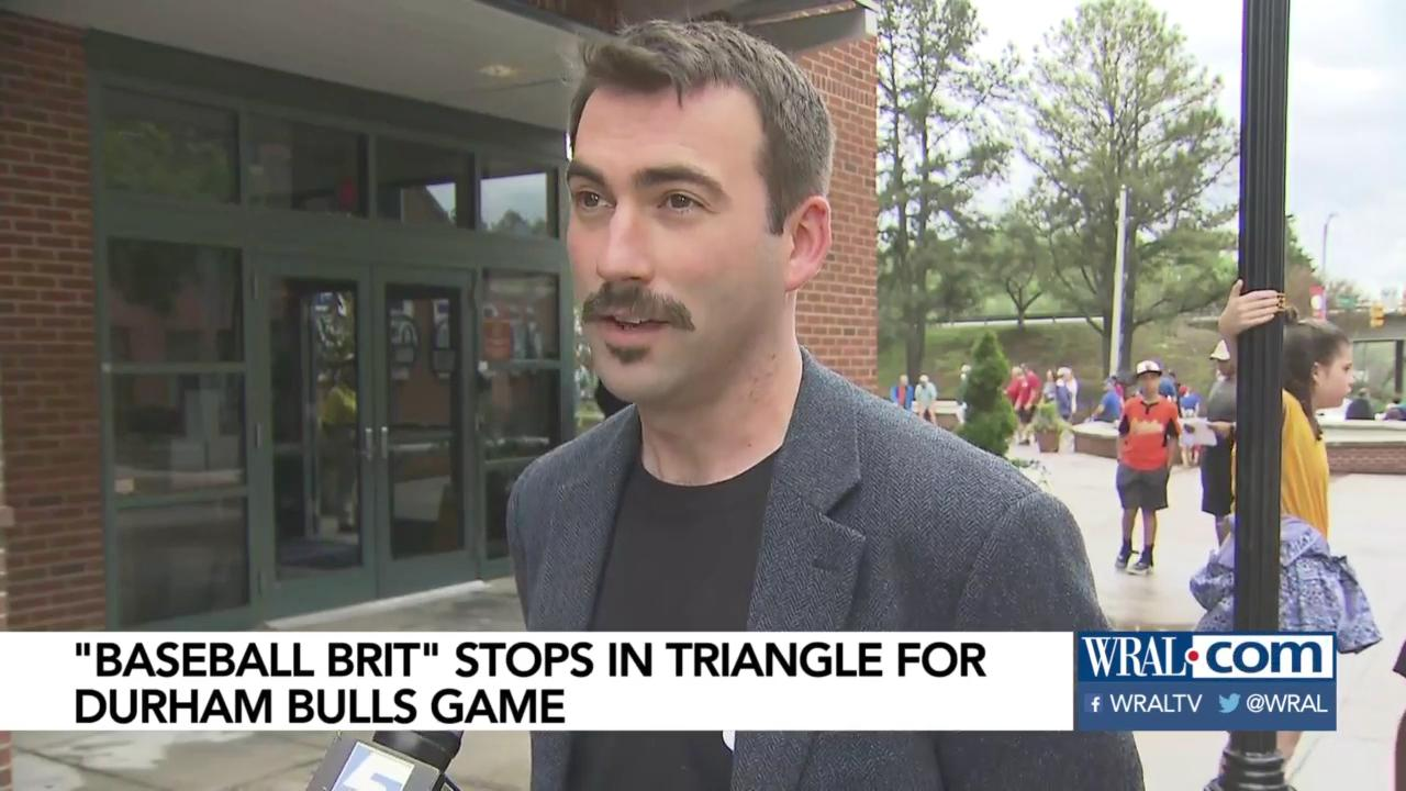 Baseball Brit' stops in Triangle for Durham Bulls game