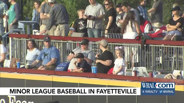 Excited fans pack stadium for Woodpeckers' first home game