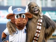 The Durham Bulls rallied past the Pawtucket Red Sox for a 6-5 win Friday night. Fans in attendance also got to celebrate their love of Star Wars.