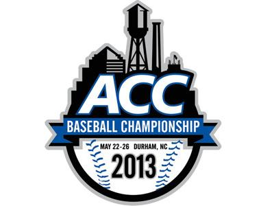 2013 ACC Baseball Tournament logo