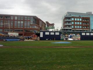 Durham Bulls Athletic Park got a facelift in the off-season.