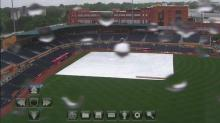 Bulls, Knights washed out
