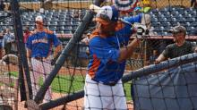 IMAGES: All-Stars prepare for Triple-A game