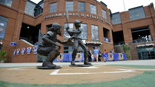 A general view of the DBAP during MiLB action between the Durham Bulls and the Norfolk Tides at the Durham Bulls Athletic Park on September 7, 2015 in Durham, NC. (Will Bratton/WRAL contributor)
