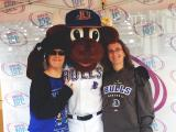 99.9 The Fan and Mix 101.5 at Durham Bulls Fan Fest