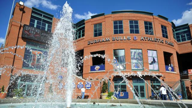 A general view of the Durham Bulls Athletic Park before during MiLB action between the Durham Bulls and the Charlotte Knights at the Durham Bulls Athletic Park on April 7, 2016 in Durham, NC. (Will Bratton/WRAL contributor)