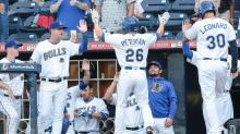 IMAGE: Early runs bolster Bulls to 8-5 win