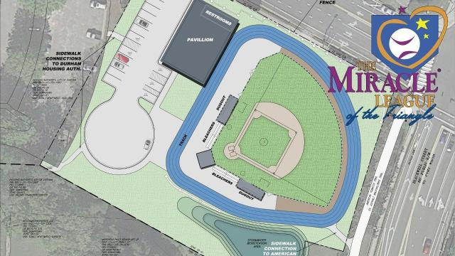 The Miracle League of the Triangle, in association with the Durham Bulls and Capitol Broadcasting Company, are expanding their services to Downtown Durham. A new Miracle League facility has plans to open in 2018 at 461 Morehead Ave., across the street from Durham Bulls Athletic Park