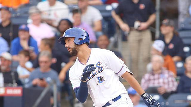 A wild pitch with two outs in the bottom of the 10th scored Drew Dosch with the winning run as the Norfolk Tides edged the Durham Bulls 5-4 at Harbor Park on Friday night.