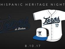 Durham Bulls celebrate Hispanic Heritage night