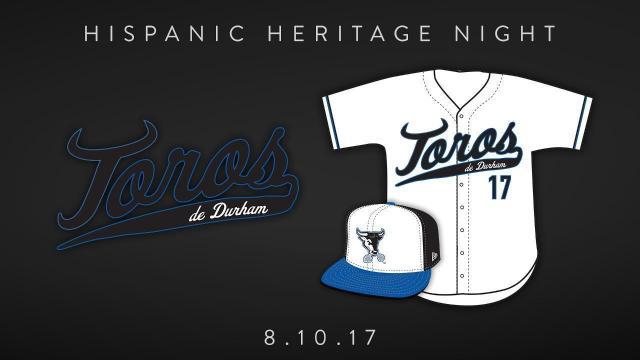 Durham Bulls celebrate Hispanic Heritage night