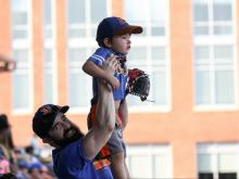 Durham Bulls celebrate fans at final homestand of 2017