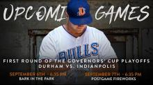 IMAGES: Bulls host Governors' Cup Playoffs with All-You-Can-Eat deal, Bark in the Park & fireworks