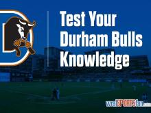 Test yourself with Durham Bulls trivia