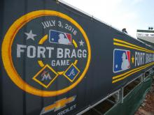 Fort Bragg hosts Braves, Marlins in historic MLB game