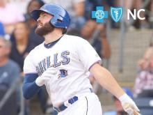 Casali Carries Bulls to 9-4 Win
