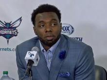 PJ Hairston introduced as the newest member of the Charlotte Hornets