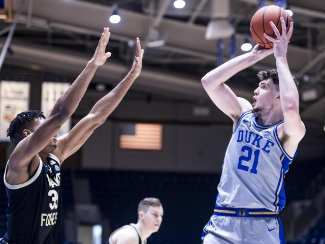 No. 21 Duke tops Wake Forest 79-68 in...
