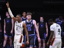 2021 Duke Men's Basketball @ Miami Hurricanes