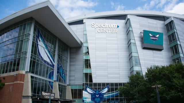 Spectrum Center, home of the Charlotte Hornets
