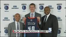 IMAGE: Bobcats' Zeller excited to play in Charlotte