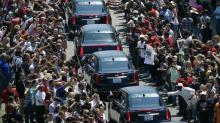 IMAGES: Huge crowds say final farewell to Muhammad Ali