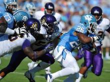 North Carolina gets win over ECU, 27-6