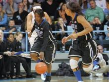 The Duke women jumped out to an early lead Sunday and prevented UNC head coach Sylvia Hatchell from her 900th win in an overwhelming 84-63 win at Carmichael Arena.
